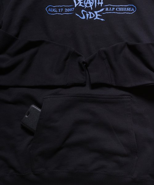 Official Artist Goods / バンドTなど  DEATH SIDE / デスサイド:SATISFY THE INSTINCT (PULLOVER) 商品画像7