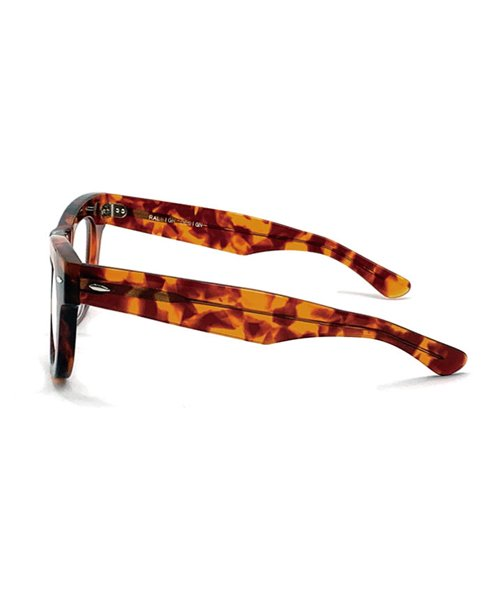 """RALEIGH / ラリー(RED MOTEL / レッドモーテル)  GN8 ROCKSTAR """"THOSE WHO DIED YOUNG"""" EYE GLASSES (AMBER CLEAR)商品画像3"""