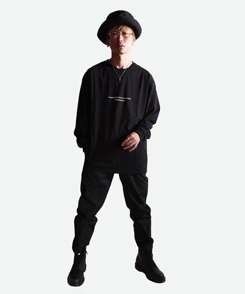 NIL DUE / NIL UN TOKYO / ニル デュエ / ニル アン トーキョー   LONG SLEEVE TATTOO TEE (BLACK) 商品画像5