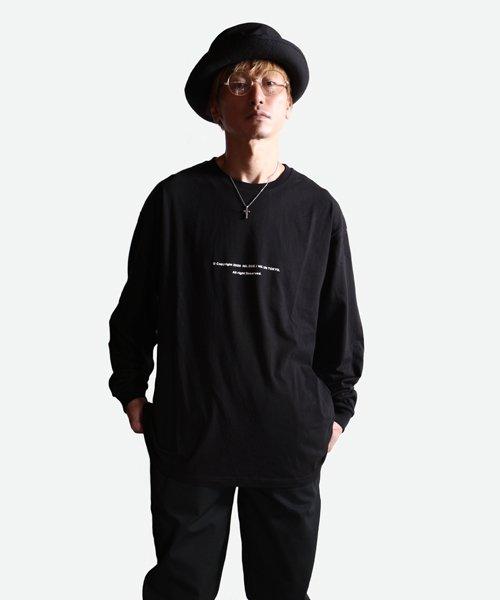 NIL DUE / NIL UN TOKYO / ニル デュエ / ニル アン トーキョー   LONG SLEEVE TATTOO TEE (BLACK) 商品画像7