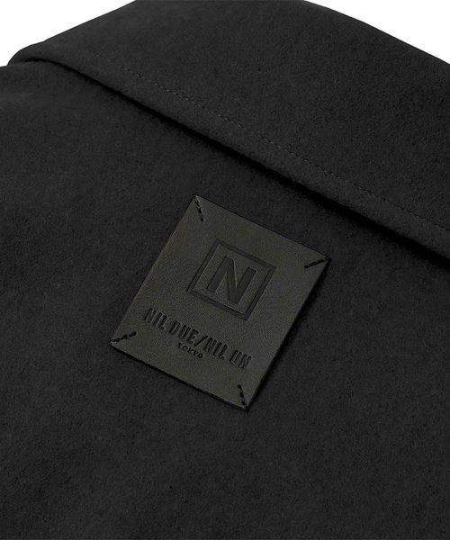 NIL DUE / NIL UN TOKYO / ニル デュエ / ニル アン トーキョー | LEATHER TAG SHIRTS JACKET (BLACK) 商品画像2