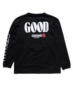 COOKMAN / クックマン /  GOOD LONG SLEEVE T-SHIRTS(BLACK)