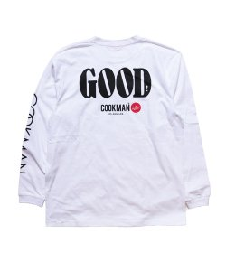 COOKMAN / クックマン /  GOOD LONG SLEEVE T-SHIRTS(WHITE)