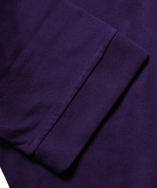 OTHER BRAND / その他ブランド |PRIMALCODE / プライマルコード BOHEMIAN CLASSIC TEE (PURPLE) 商品画像10