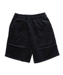 COOKMAN / クックマン /  CHEF SHORTS PANTS CORDUROY(BLACK)