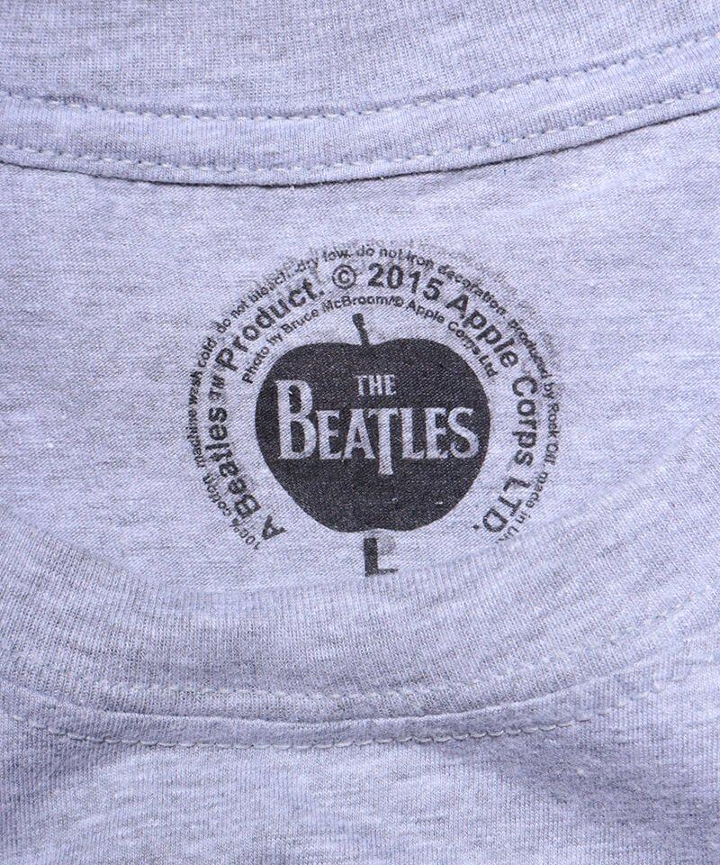 Official Artist Goods / バンドTなど |THE BEATLES / ビートルズ:BEATLES ON APPLE ICONIC T-SHIRT (ASH GRAY) 商品画像1