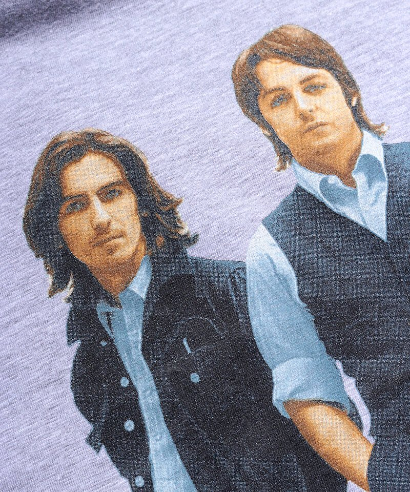 Official Artist Goods / バンドTなど |THE BEATLES / ビートルズ:BEATLES ON APPLE ICONIC T-SHIRT (ASH GRAY) 商品画像3