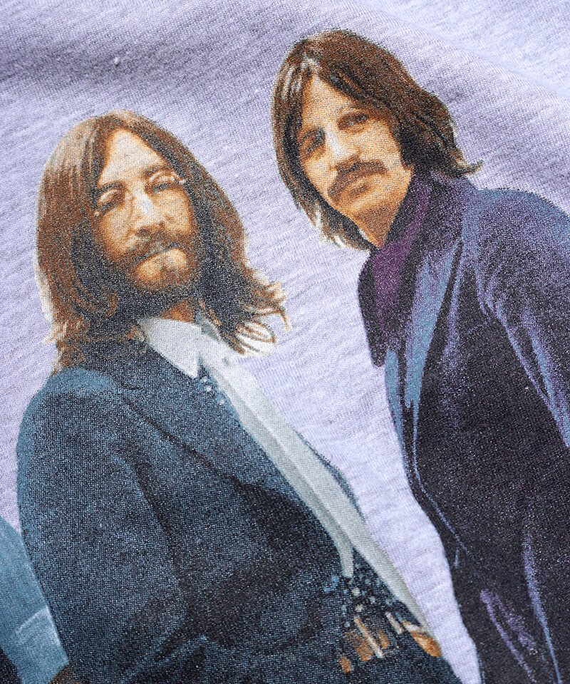 Official Artist Goods / バンドTなど |THE BEATLES / ビートルズ:BEATLES ON APPLE ICONIC T-SHIRT (ASH GRAY) 商品画像4
