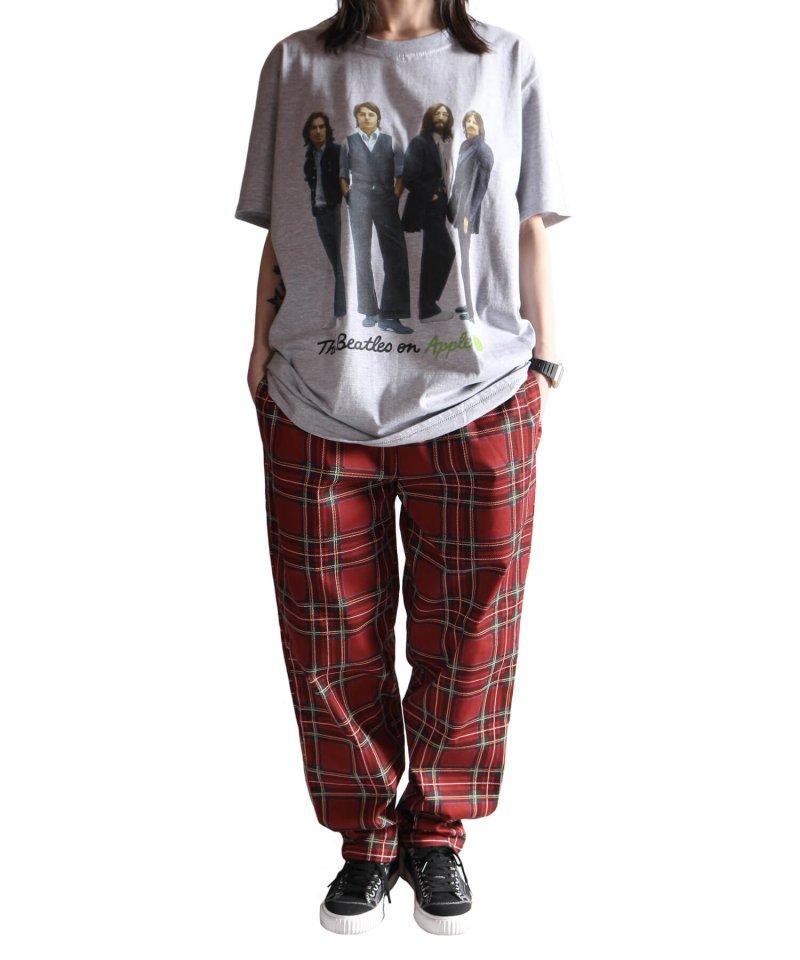 Official Artist Goods / バンドTなど |THE BEATLES / ビートルズ:BEATLES ON APPLE ICONIC T-SHIRT (ASH GRAY) 商品画像5
