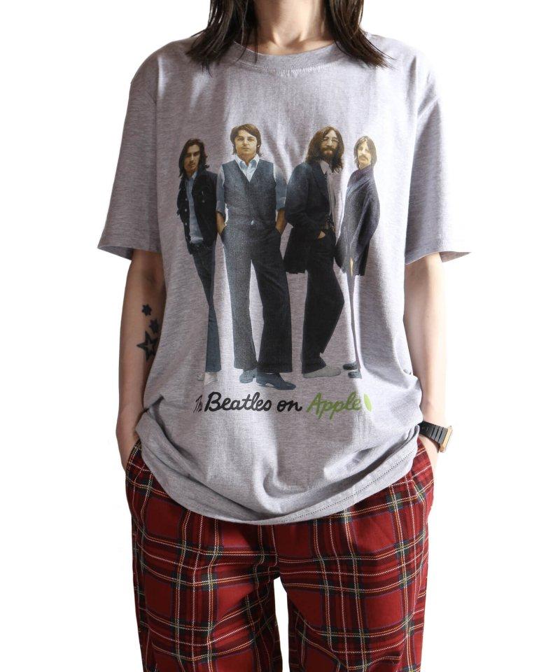 Official Artist Goods / バンドTなど |THE BEATLES / ビートルズ:BEATLES ON APPLE ICONIC T-SHIRT (ASH GRAY) 商品画像6