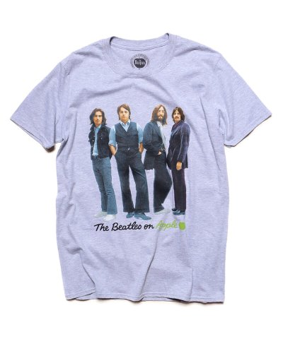 Official Artist Goods / バンドTなど / THE BEATLES / ビートルズ:BEATLES ON APPLE ICONIC T-SHIRT (ASH GRAY)