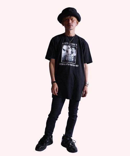 Official Artist Goods / バンドTなど |ANTI CIMEX / アンチ サイメックス:VICTIMS OF A BOMB RAID T-SHIRT (BLACK)商品画像8