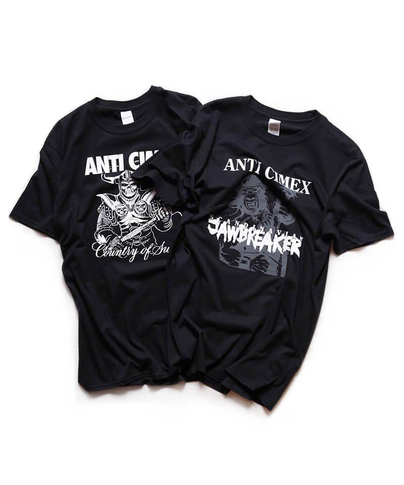 Official Artist Goods / バンドTなど  ANTI CIMEX / アンチ サイメックス:COUNTRY OF SWEDEN T-SHIRT (BLACK)商品画像4
