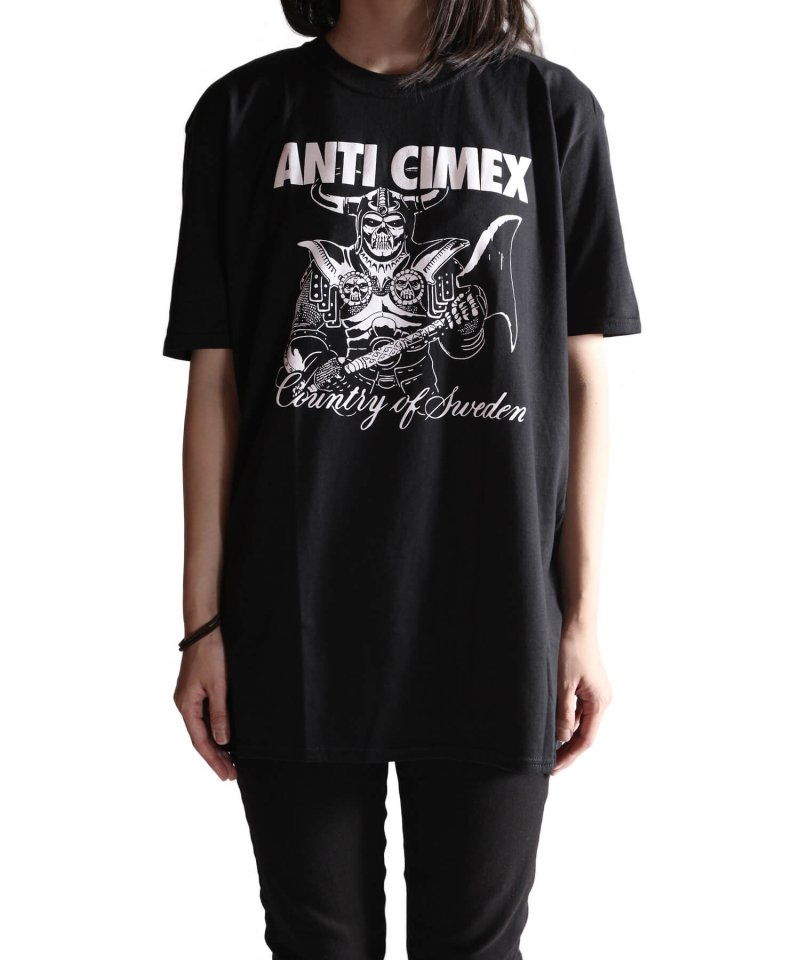Official Artist Goods / バンドTなど  ANTI CIMEX / アンチ サイメックス:COUNTRY OF SWEDEN T-SHIRT (BLACK)商品画像7