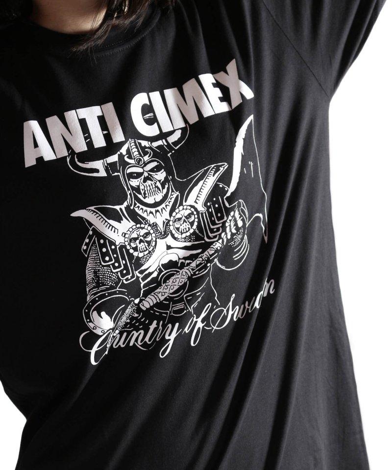Official Artist Goods / バンドTなど  ANTI CIMEX / アンチ サイメックス:COUNTRY OF SWEDEN T-SHIRT (BLACK)商品画像8