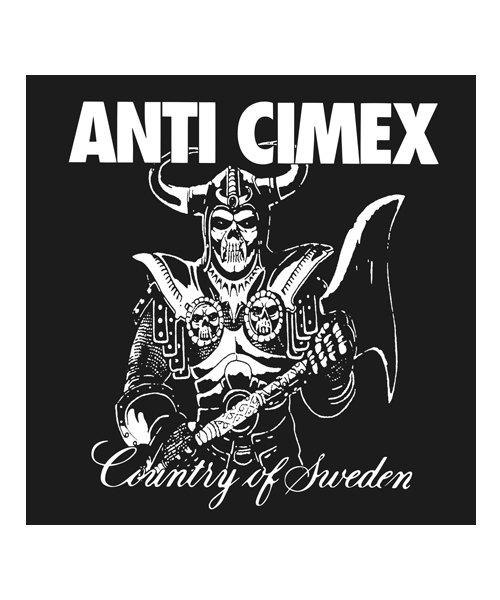 Official Artist Goods / バンドTなど  ANTI CIMEX / アンチ サイメックス:COUNTRY OF SWEDEN T-SHIRT (BLACK)商品画像9