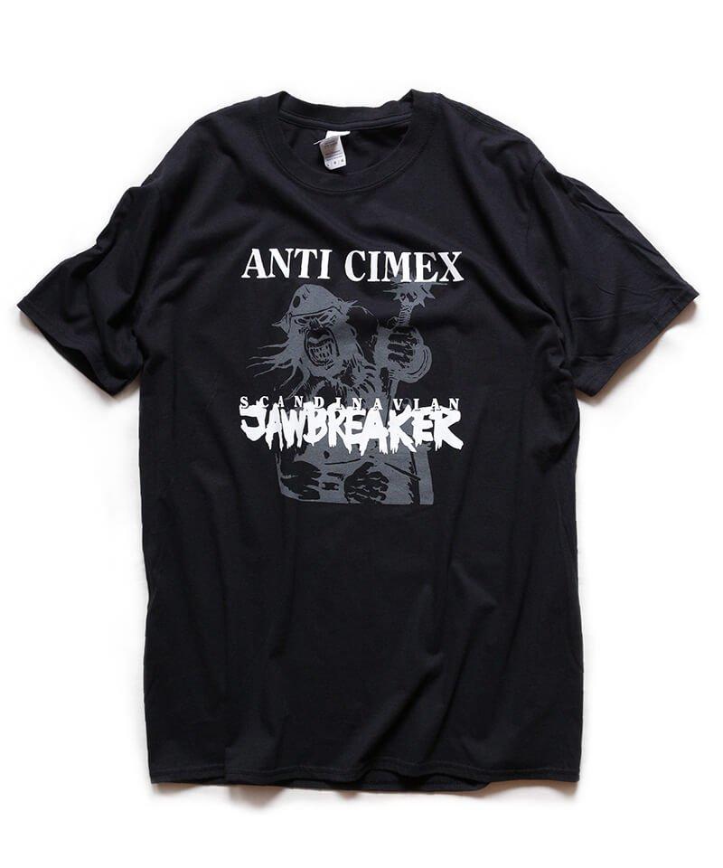 Official Artist Goods / バンドTなど | ANTI CIMEX / アンチ サイメックス:SCANDINAVIAN JAWBREAKER T-SHIRT (BLACK)商品画像