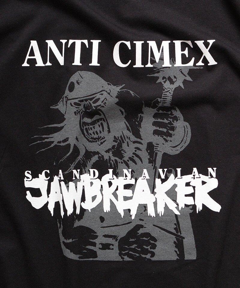 Official Artist Goods / バンドTなど |ANTI CIMEX / アンチ サイメックス:SCANDINAVIAN JAWBREAKER T-SHIRT (BLACK)商品画像1