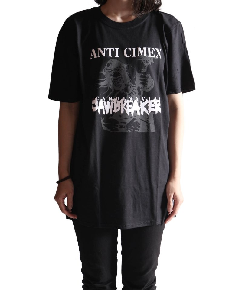 Official Artist Goods / バンドTなど |ANTI CIMEX / アンチ サイメックス:SCANDINAVIAN JAWBREAKER T-SHIRT (BLACK)商品画像7
