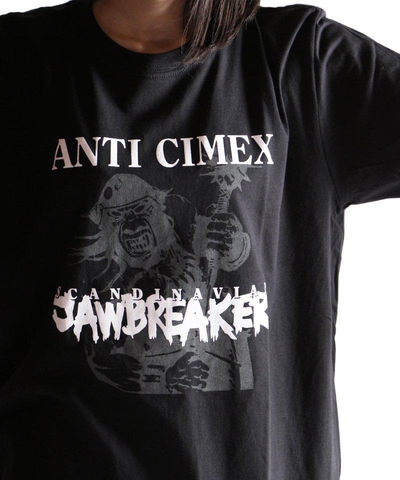 Official Artist Goods / バンドTなど |ANTI CIMEX / アンチ サイメックス:SCANDINAVIAN JAWBREAKER T-SHIRT (BLACK)商品画像8