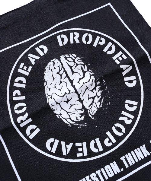 Official Artist Goods / バンドTなど  DROPDEAD / ドロップデッド:BRAIN TOTE BAG (BLACK)商品画像1