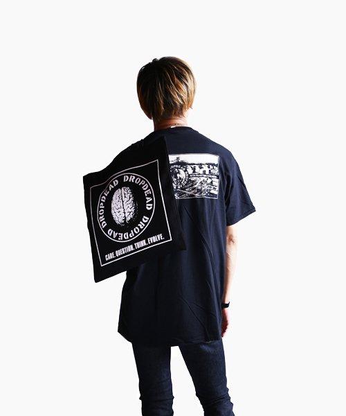 Official Artist Goods / バンドTなど  DROPDEAD / ドロップデッド:BRAIN TOTE BAG (BLACK)商品画像11