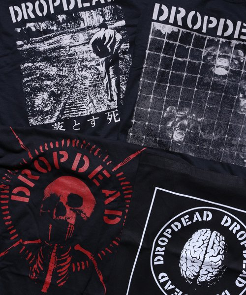 Official Artist Goods / バンドTなど  DROPDEAD / ドロップデッド:BRAIN TOTE BAG (BLACK)商品画像5