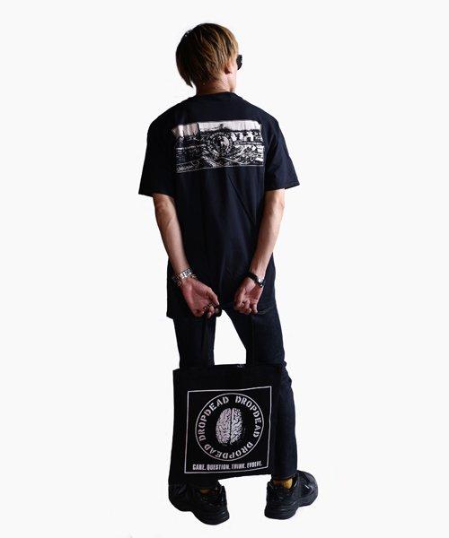 Official Artist Goods / バンドTなど  DROPDEAD / ドロップデッド:BRAIN TOTE BAG (BLACK)商品画像8