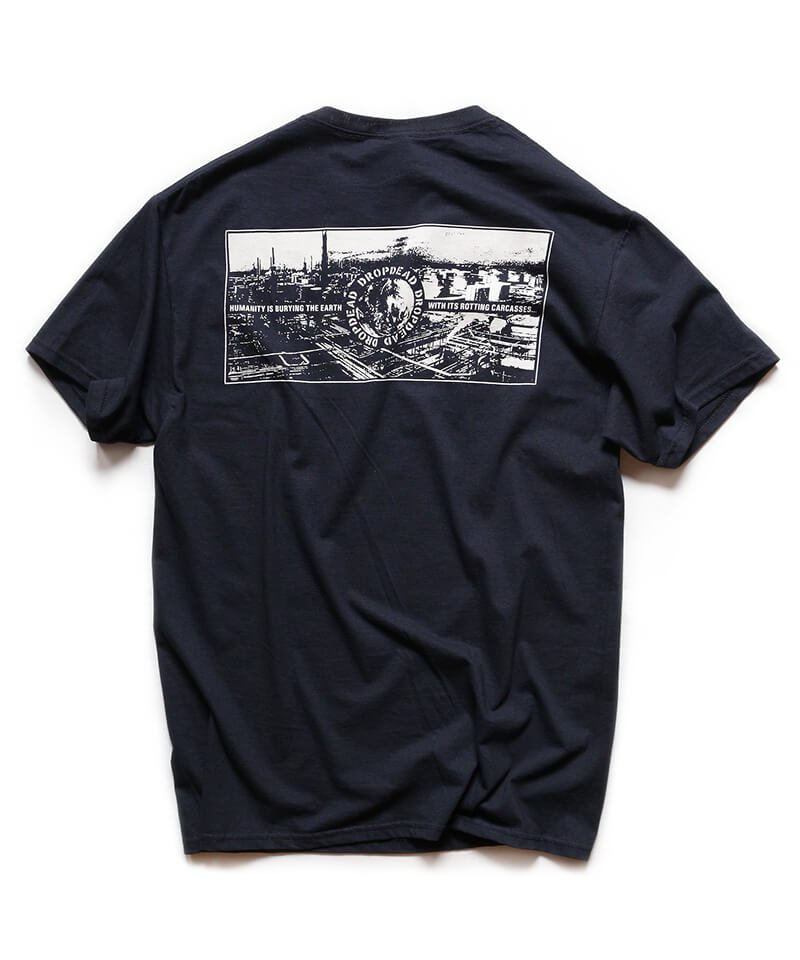 Official Artist Goods / バンドTなど |DROPDEAD / ドロップデッド:LP COVER T-SHIRT (BLACK)商品画像1