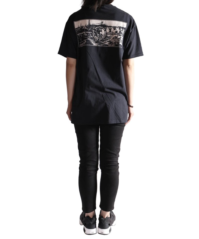 Official Artist Goods / バンドTなど |DROPDEAD / ドロップデッド:LP COVER T-SHIRT (BLACK)商品画像10