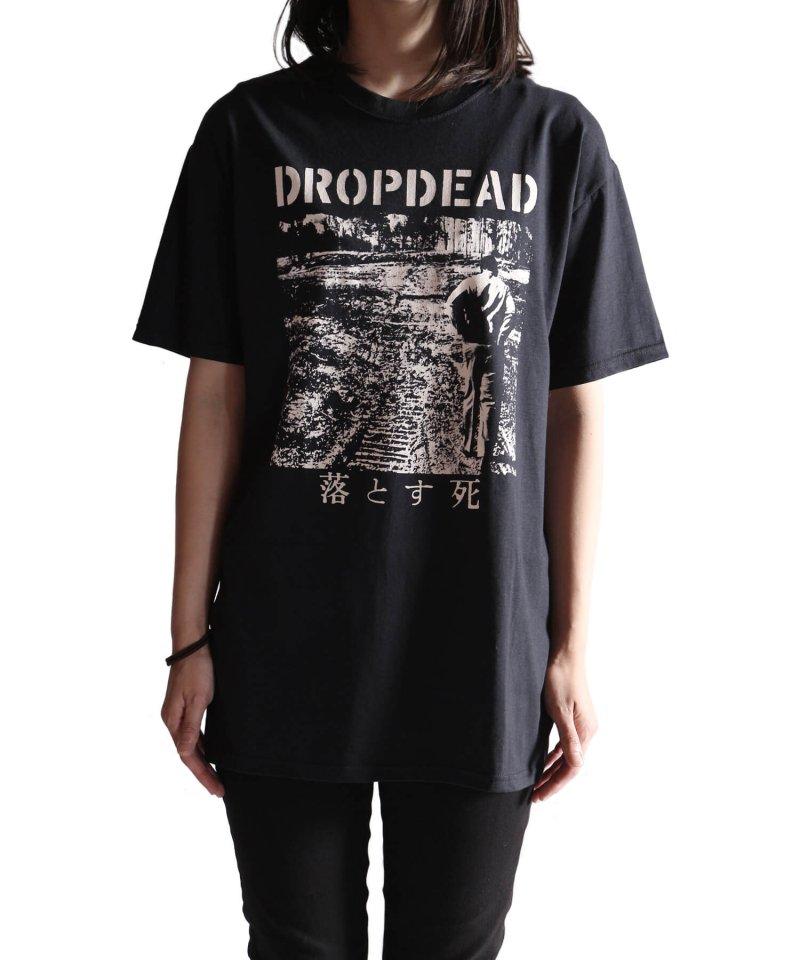 Official Artist Goods / バンドTなど |DROPDEAD / ドロップデッド:LP COVER T-SHIRT (BLACK)商品画像11