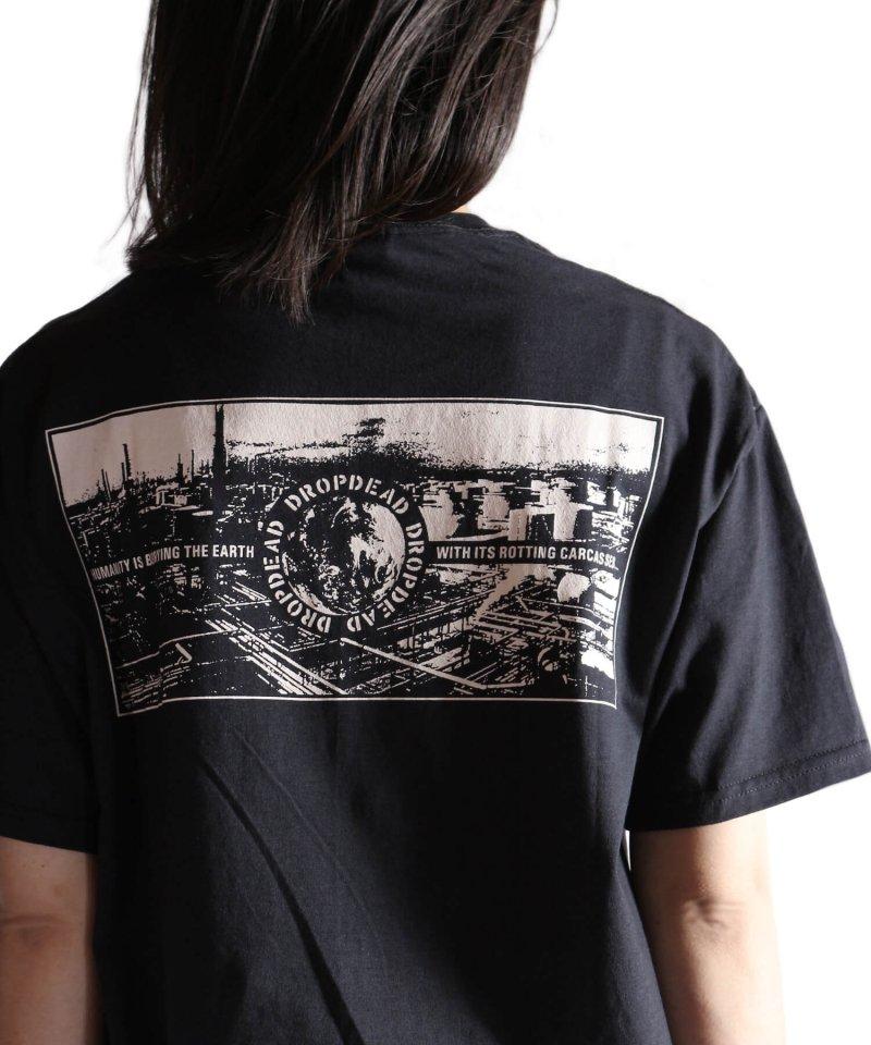 Official Artist Goods / バンドTなど |DROPDEAD / ドロップデッド:LP COVER T-SHIRT (BLACK)商品画像14