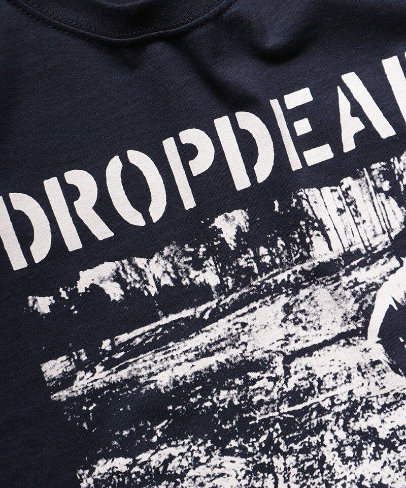Official Artist Goods / バンドTなど |DROPDEAD / ドロップデッド:LP COVER T-SHIRT (BLACK)商品画像4