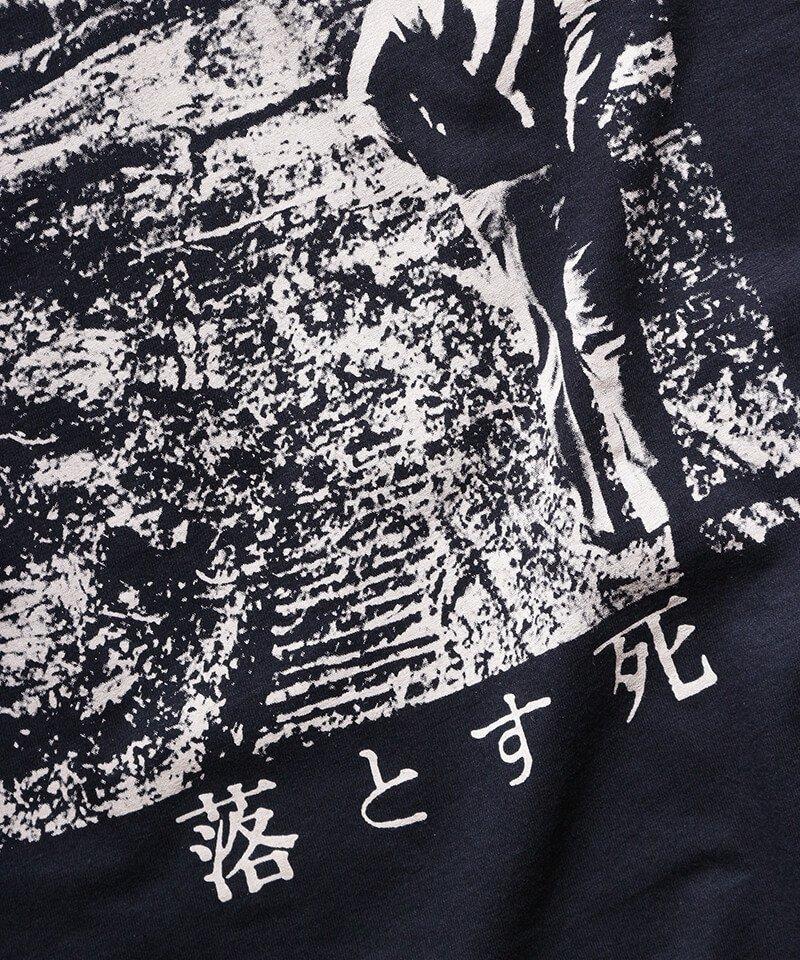 Official Artist Goods / バンドTなど |DROPDEAD / ドロップデッド:LP COVER T-SHIRT (BLACK)商品画像5