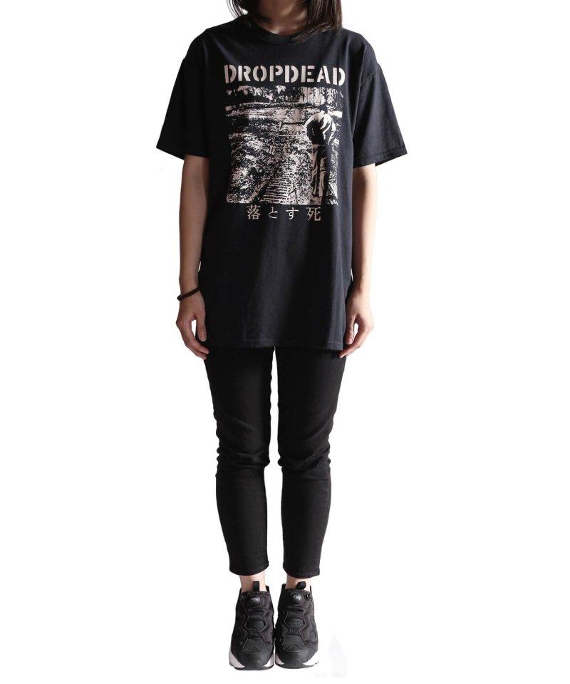 Official Artist Goods / バンドTなど |DROPDEAD / ドロップデッド:LP COVER T-SHIRT (BLACK)商品画像9