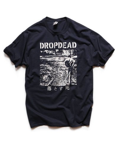 Official Artist Goods / バンドTなど / DROPDEAD / ドロップデッド:LP COVER T-SHIRT (BLACK)