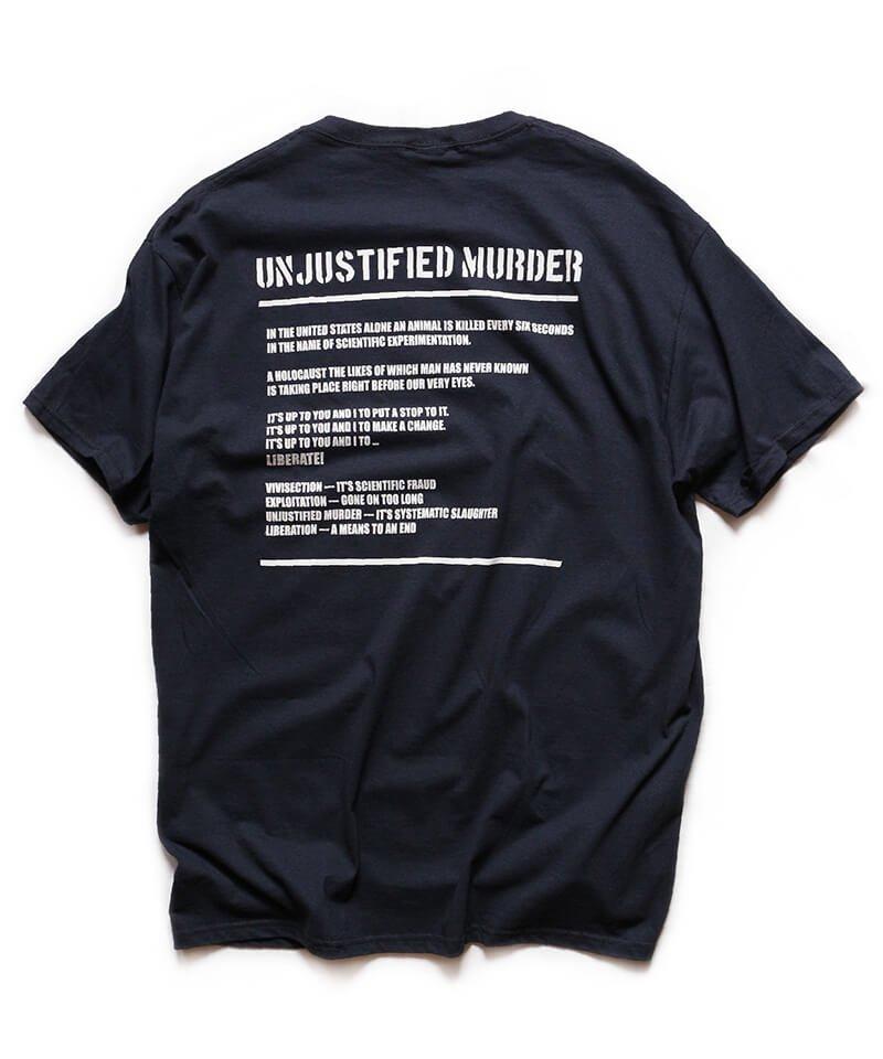 Official Artist Goods / バンドTなど  DROPDEAD / ドロップデッド:UNJUSTIFIED MURDER T-SHIRT (BLACK)商品画像1