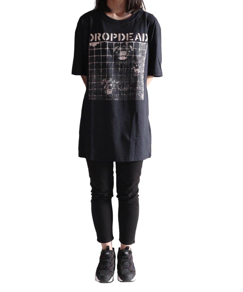 Official Artist Goods / バンドTなど  DROPDEAD / ドロップデッド:UNJUSTIFIED MURDER T-SHIRT (BLACK)商品画像10