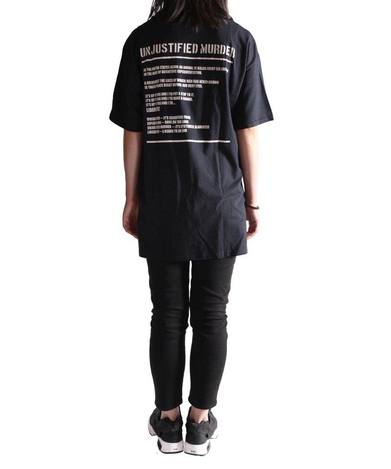 Official Artist Goods / バンドTなど  DROPDEAD / ドロップデッド:UNJUSTIFIED MURDER T-SHIRT (BLACK)商品画像11