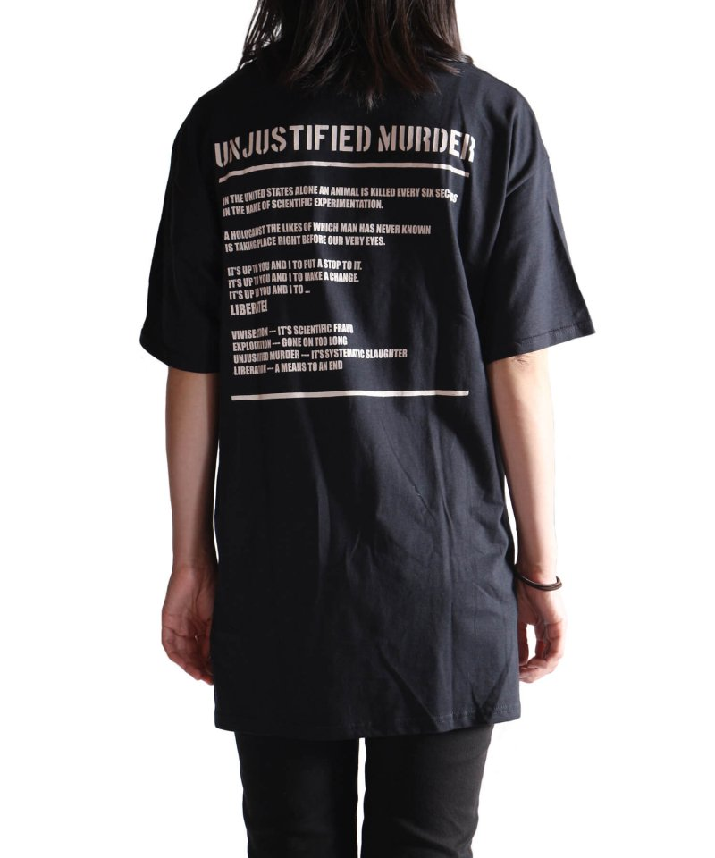 Official Artist Goods / バンドTなど  DROPDEAD / ドロップデッド:UNJUSTIFIED MURDER T-SHIRT (BLACK)商品画像13