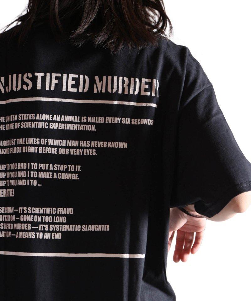 Official Artist Goods / バンドTなど  DROPDEAD / ドロップデッド:UNJUSTIFIED MURDER T-SHIRT (BLACK)商品画像15