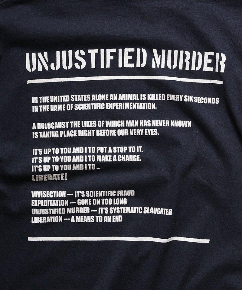 Official Artist Goods / バンドTなど  DROPDEAD / ドロップデッド:UNJUSTIFIED MURDER T-SHIRT (BLACK)商品画像3