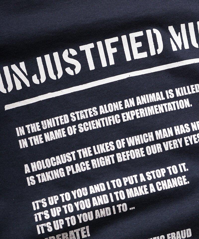 Official Artist Goods / バンドTなど  DROPDEAD / ドロップデッド:UNJUSTIFIED MURDER T-SHIRT (BLACK)商品画像6