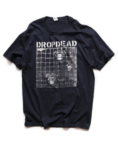 Official Artist Goods / バンドTなど / DROPDEAD / ドロップデッド:UNJUSTIFIED MURDER T-SHIRT (BLACK)