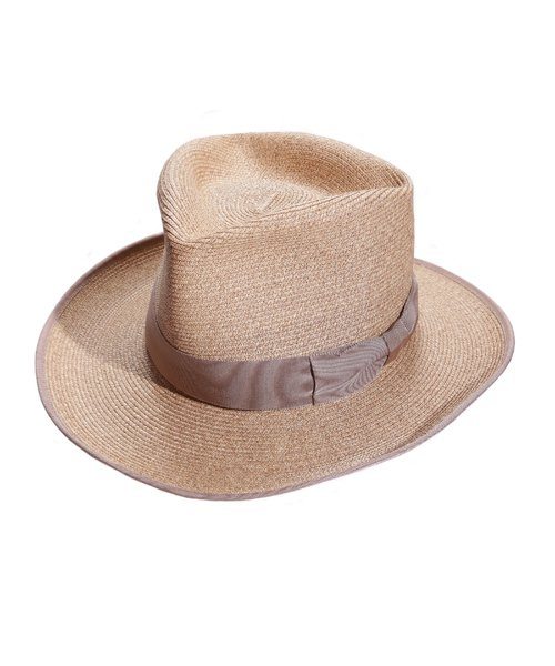 """RALEIGH / ラリー(RED MOTEL / レッドモーテル)    THE ORIGINAL GANGSTER """"I Don't Give a Damn"""" BLADE HAT(BEIGE)商品画像"""