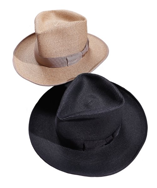 """RALEIGH / ラリー(RED MOTEL / レッドモーテル)   THE ORIGINAL GANGSTER """"I Don't Give a Damn"""" BLADE HAT(BEIGE)商品画像1"""
