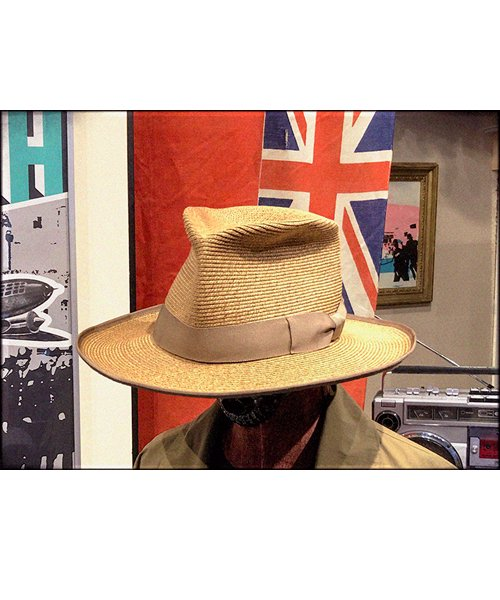 """RALEIGH / ラリー(RED MOTEL / レッドモーテル)   THE ORIGINAL GANGSTER """"I Don't Give a Damn"""" BLADE HAT(BEIGE)商品画像10"""