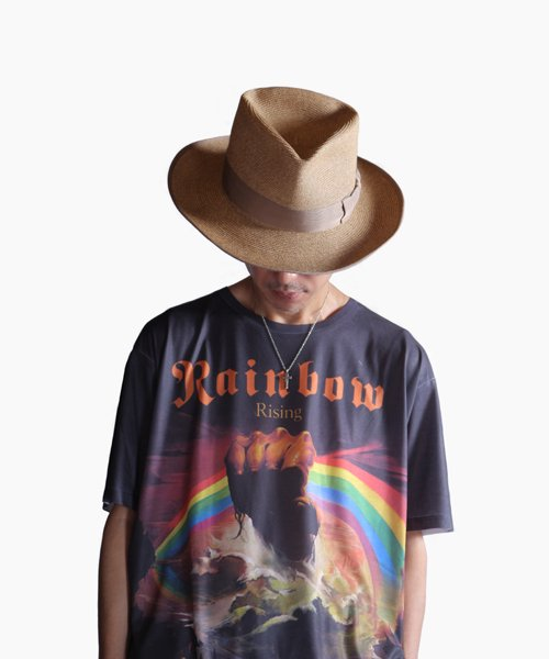 """RALEIGH / ラリー(RED MOTEL / レッドモーテル)   THE ORIGINAL GANGSTER """"I Don't Give a Damn"""" BLADE HAT(BEIGE)商品画像16"""