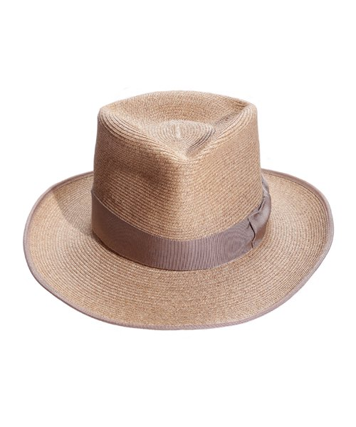 """RALEIGH / ラリー(RED MOTEL / レッドモーテル)   THE ORIGINAL GANGSTER """"I Don't Give a Damn"""" BLADE HAT(BEIGE)商品画像3"""