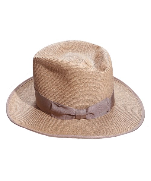 """RALEIGH / ラリー(RED MOTEL / レッドモーテル)   THE ORIGINAL GANGSTER """"I Don't Give a Damn"""" BLADE HAT(BEIGE)商品画像4"""